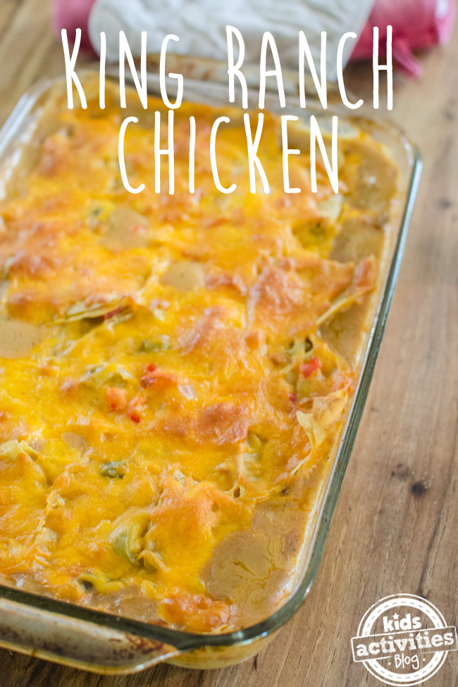 king ranch chicken text
