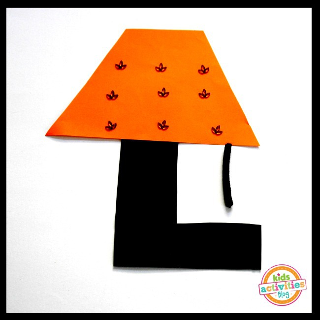 L Is For Lamp Letter L Craft