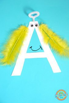 A Is For Angel — Letter A Craft
