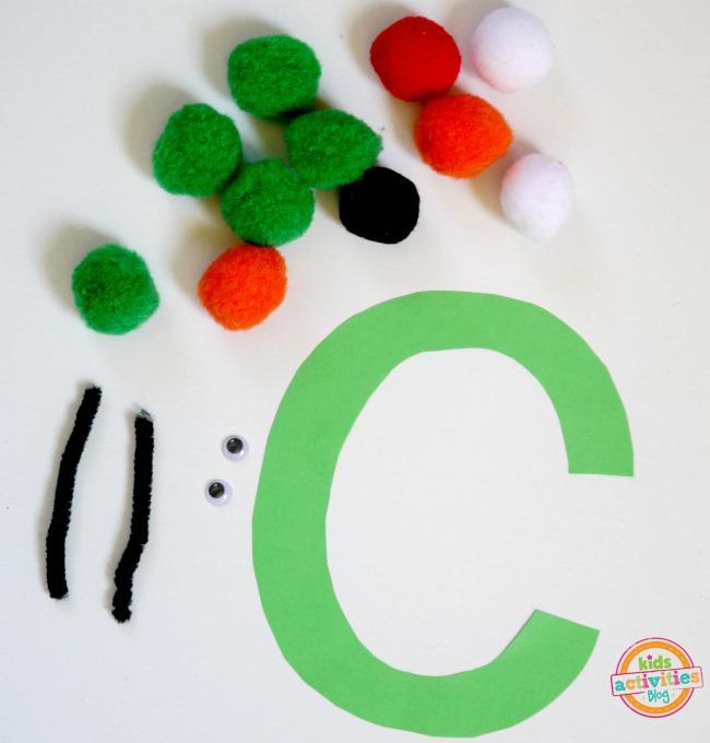 letter C supplies