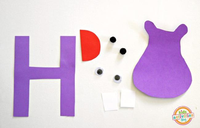 letter H supplies