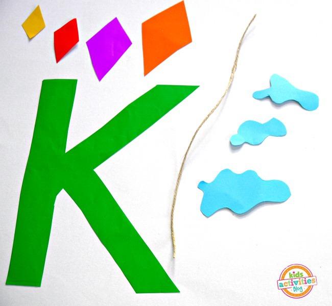 letter K craft supplies