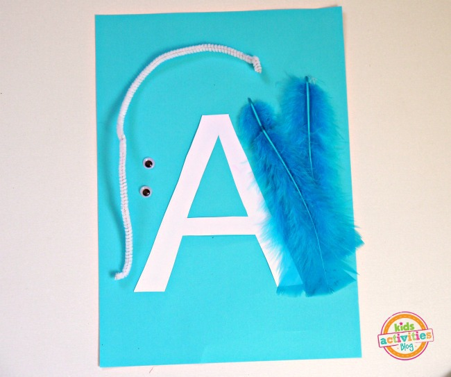 letter a craft