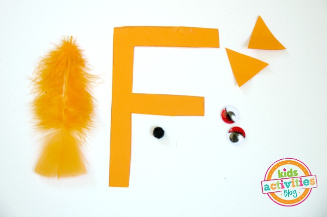 letter f craft supplies