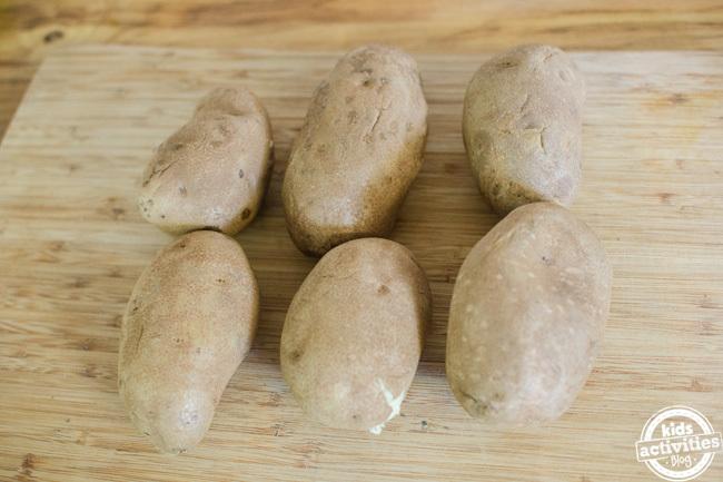 loaded potato