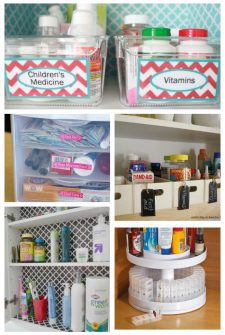15 Ways to Organize Your Medicine Cabinet