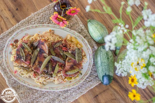 pork chops spanish rice 10