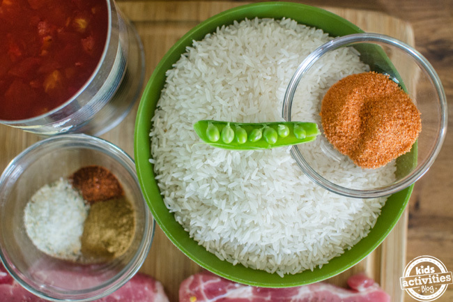 pork chops spanish rice 2