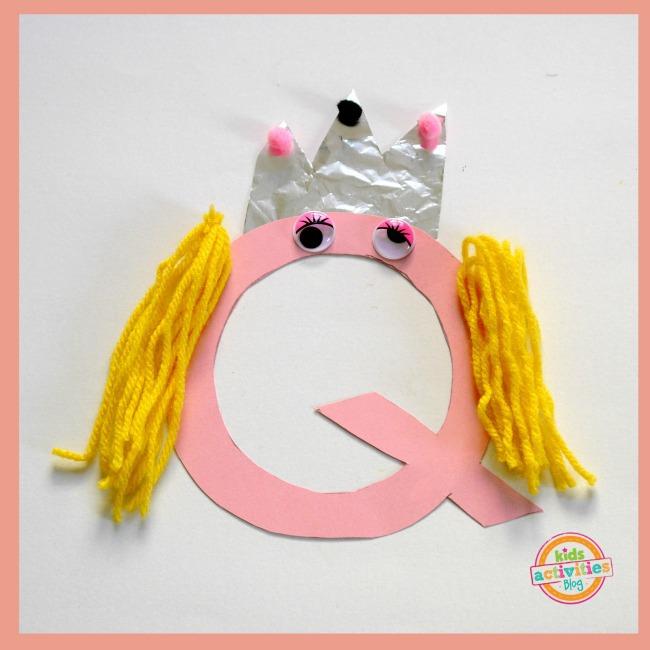 q letter crafts 2