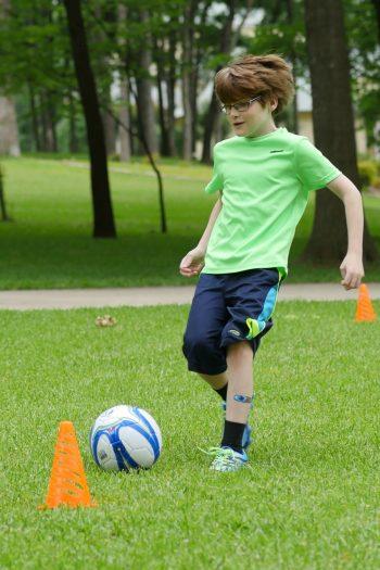 soccer boy vertical