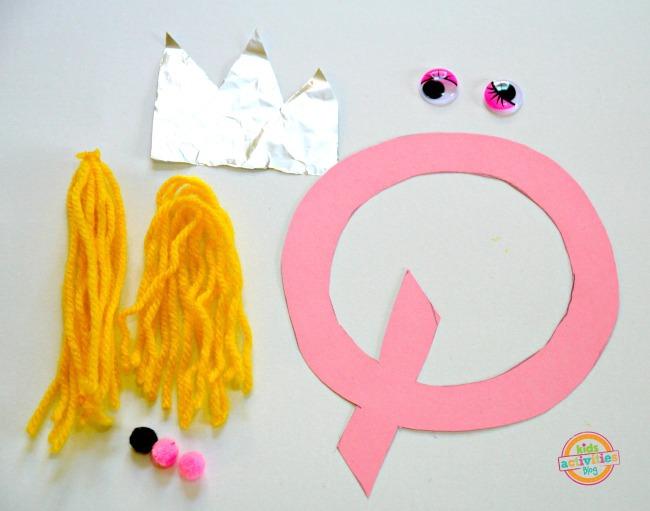 supplies letter Q
