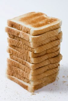 How to make toast for a toddler…