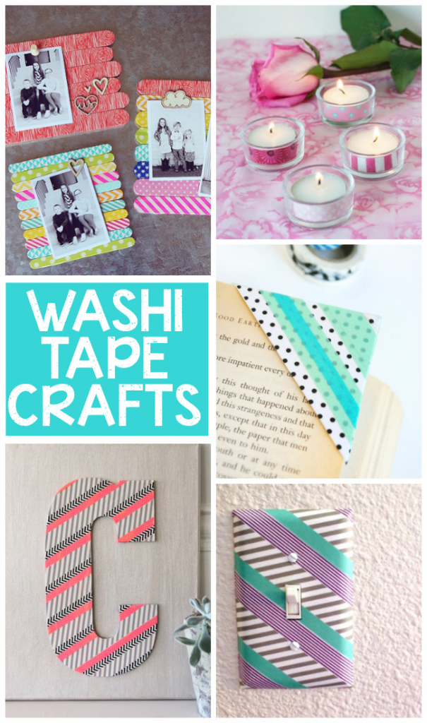15 gorgeous washi tape crafts for Crafts with washi tape