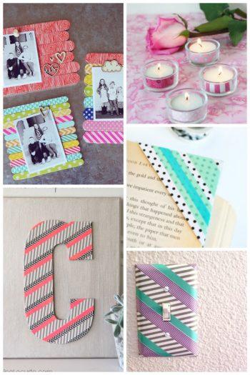 15 Gorgeous Washi Tape Crafts