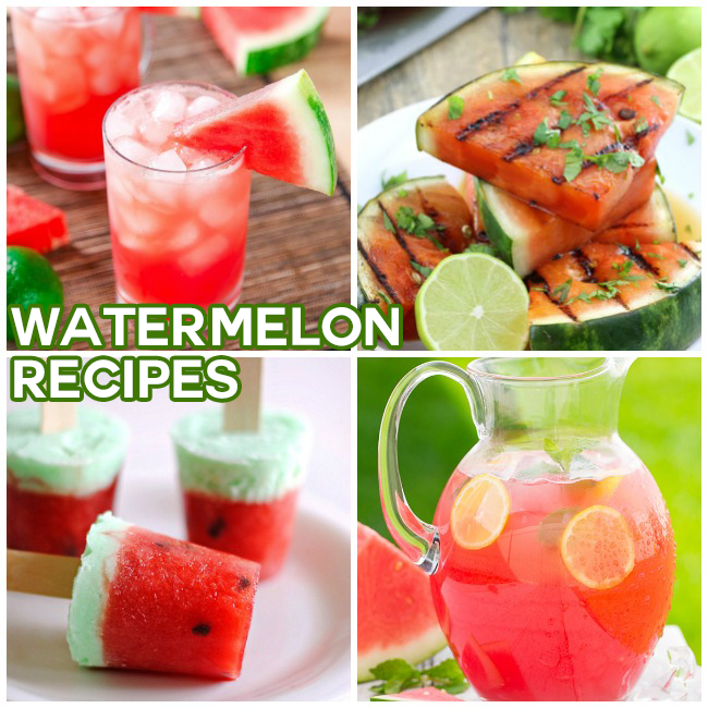15 Delicious Watermelon Recipes