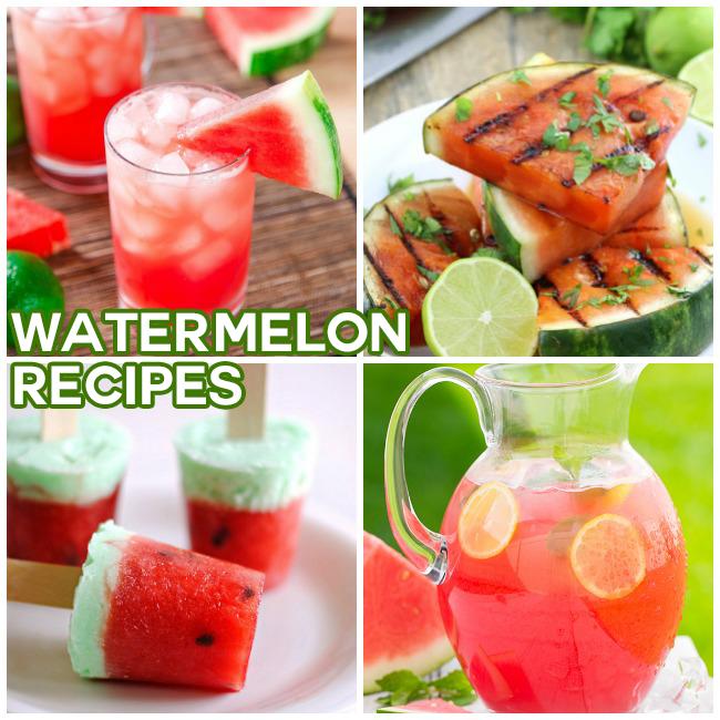 15 Delicious Watermelon Recipes