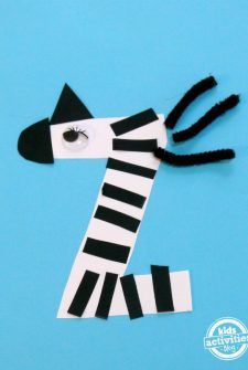 Z Is For Zebra. Letter Z Craft