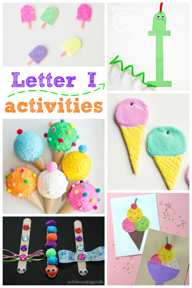 15 Letter I Activities and Crafts