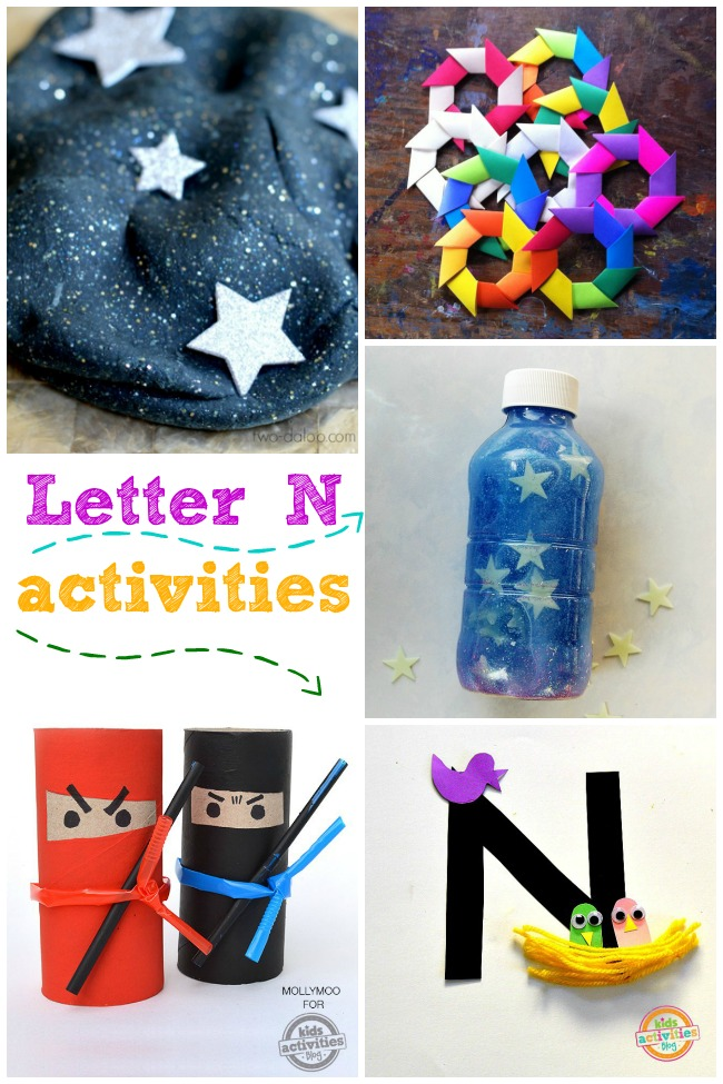 15 Letter N Activitie and Crafts