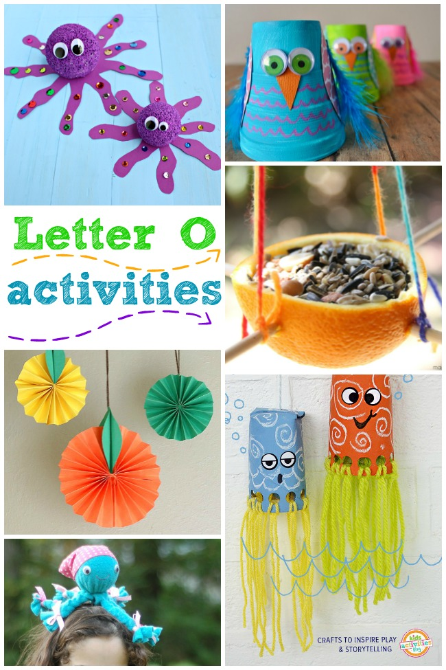 15 letter o activities