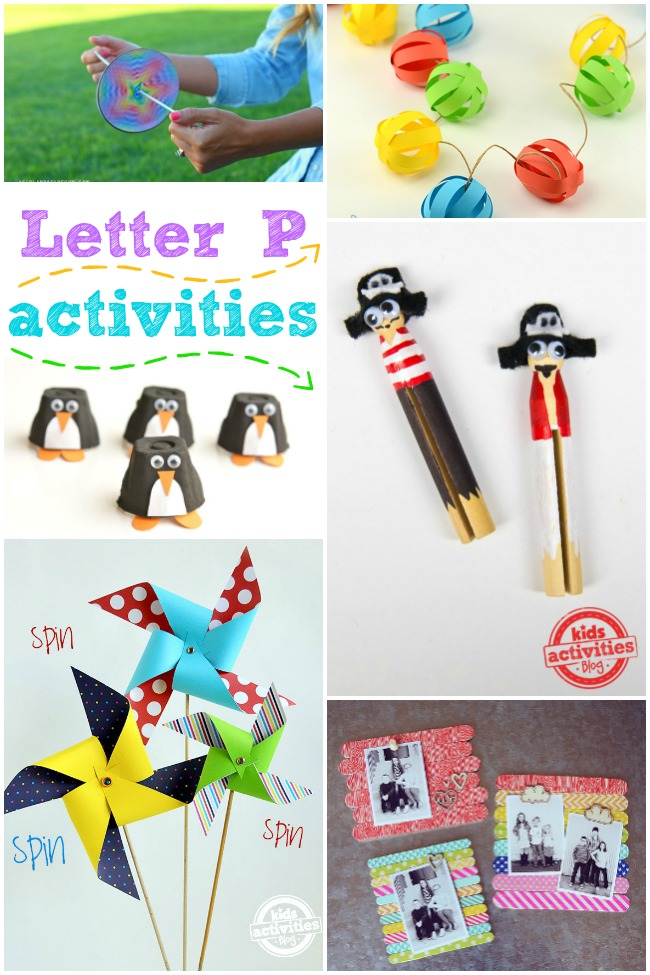 15 Letter P Activities and Crafts
