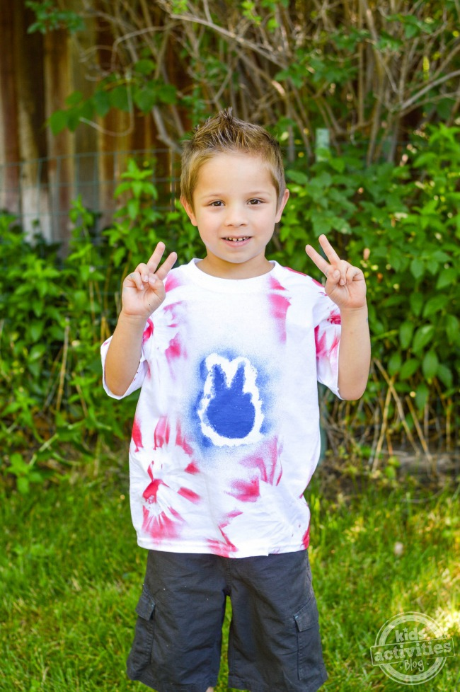 4th of July Tie-Dye T-Shirts2