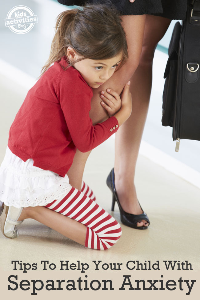 Tips to Help a Child With Separation Anxiety From Real Moms and Parents