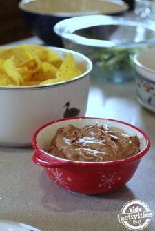 Chocolate Brownie Dip