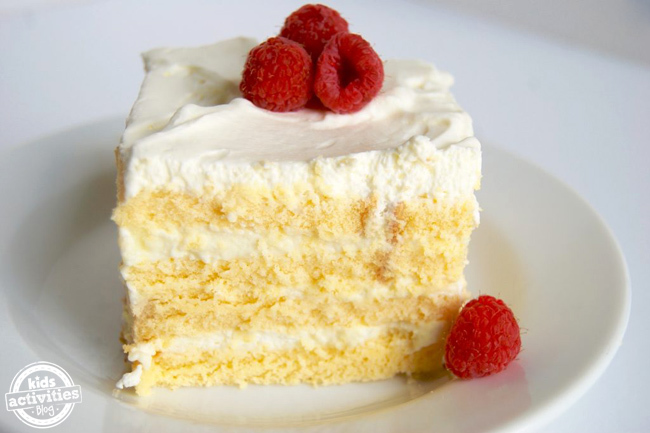 Easy Vanilla Icebox Cake