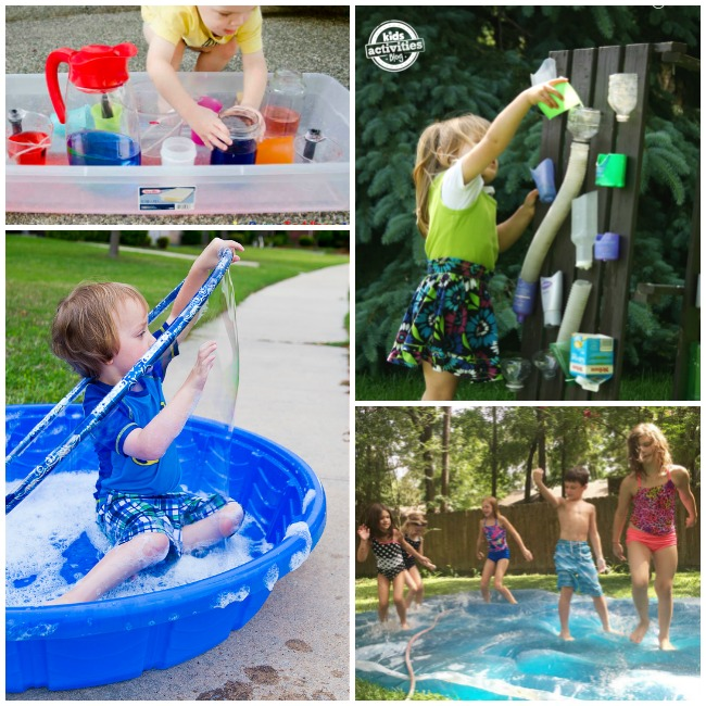 Have Fun with Water Play Ideas This Summer