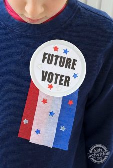 Future Voter Button Craft