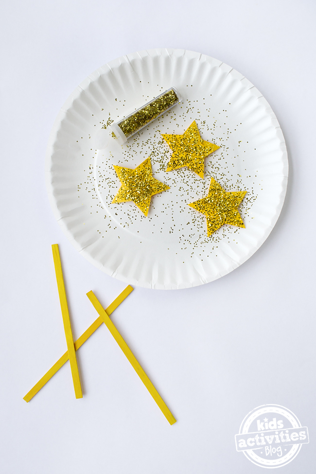 Easy Fairy Wand Craft