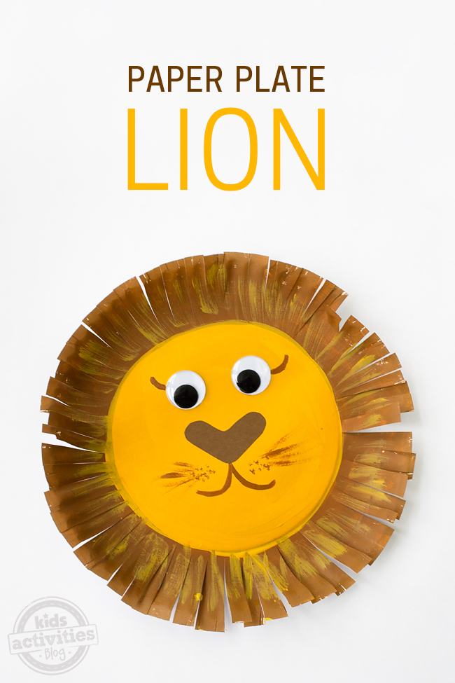 Lion Arts And Crafts Activities