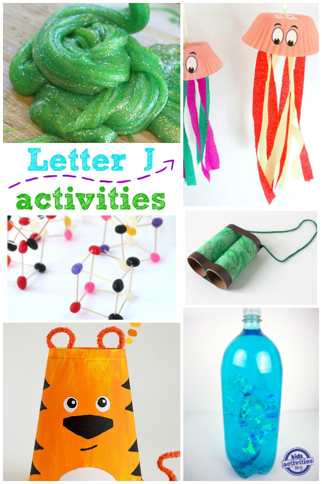 Letter J Activities and Crafts