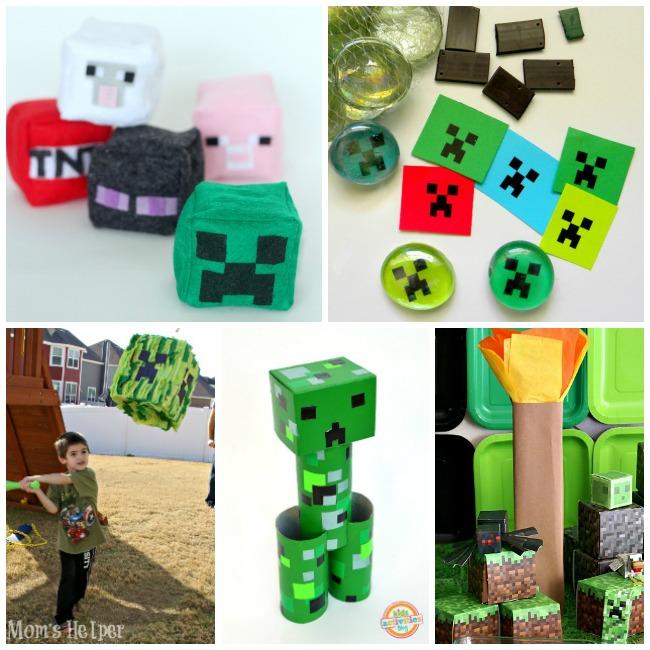 Letter M Activities Minecraft