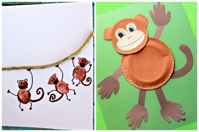 Letter M Activities Monkeys