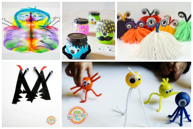 Letter M Activities Monsters