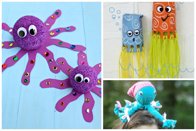 Letter O Activities Octopus
