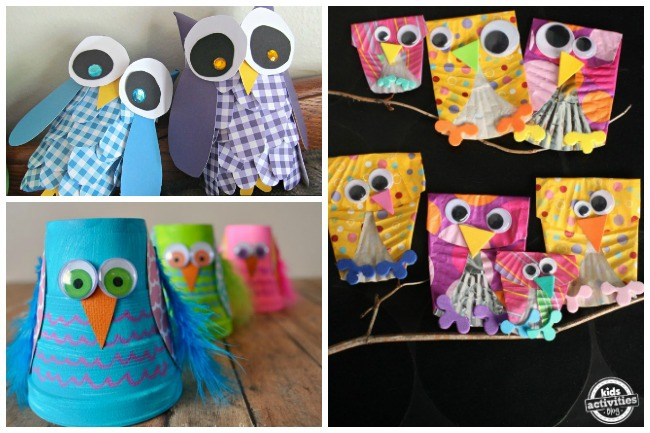 Letter O Activities Owls