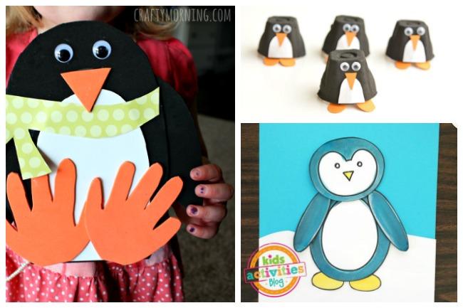 Letter P Activities Penguins