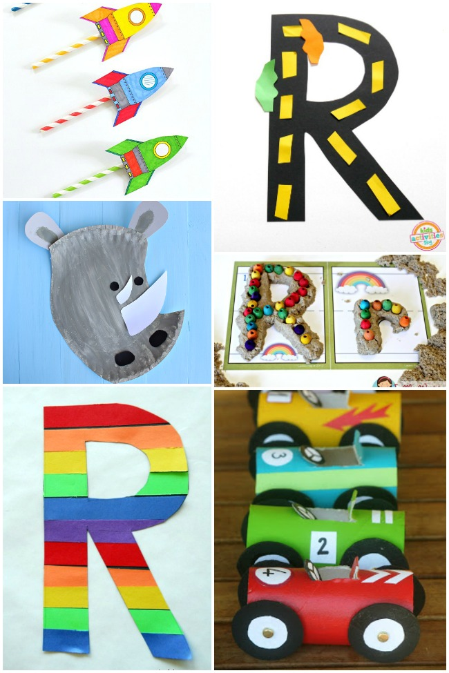 15 Letter R Activities