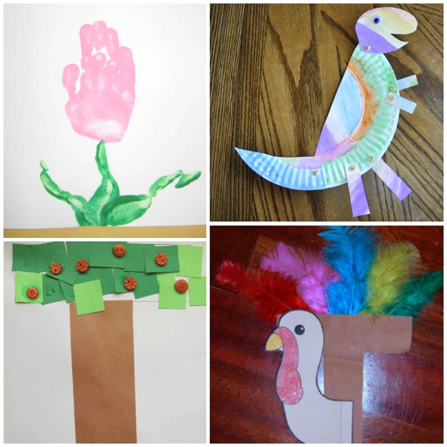 Letter T Activities and Crafts