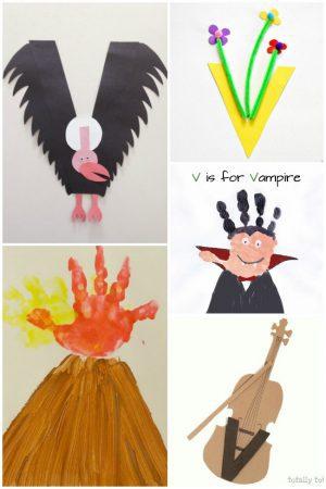 Preschool Letter V Activities
