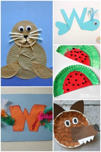 Preschool Letter W Activities