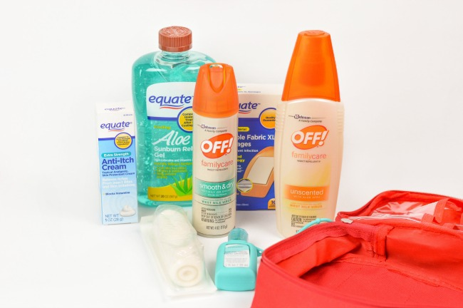 On-The-Go Bug Out Bag supplies