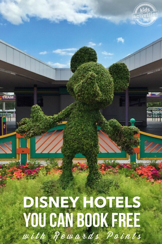10 Walt Disney World Hotels You Can Book Free with Rewards Points