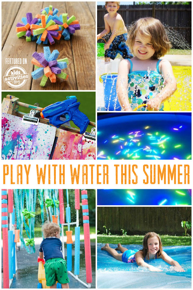 Fun Ways to Play With Water This Summer