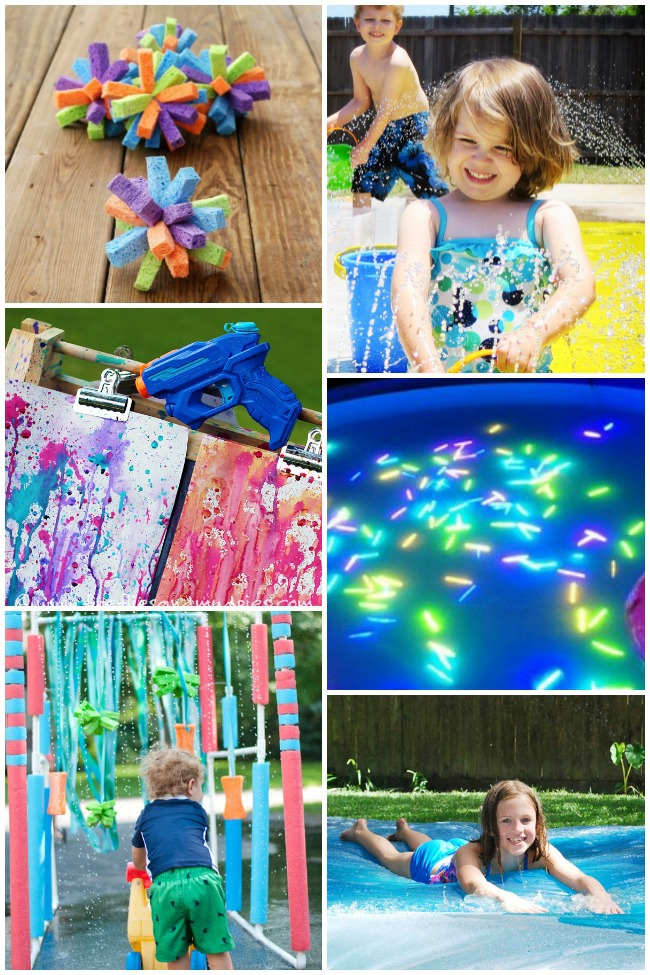 Play With Patterns Prints And Lots Of Accessories For: 23 Ways To Play With Water This Summer