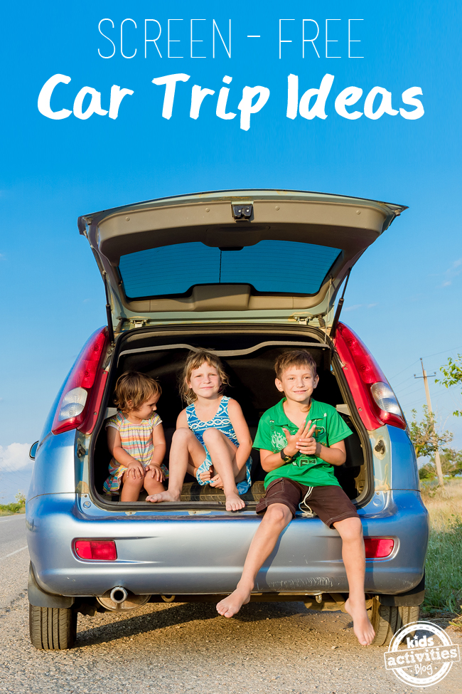 Screen Free Car Trip Ideas