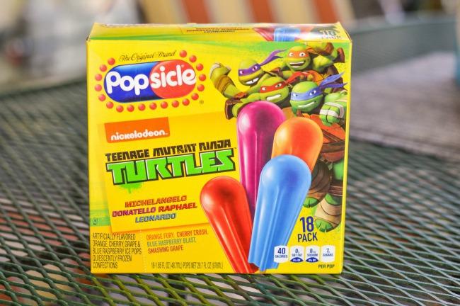 Teenage Mutant Ninja Turtle Popsicle